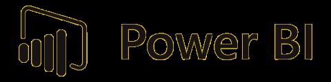 Power BI, Power Query, Business Intelligence, iş Zekası Retina Logo